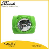 Buy cheap KL6-C BRANDO Cordless 13000LUX msha approved cordless mining lights for sale from wholesalers