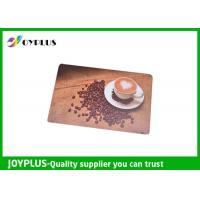 Wholesale Customized Color / Size Restaurant Table Mats , Square Table Placemats PP Material from china suppliers