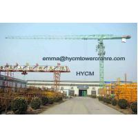 Wholesale PT6425 Building Flattop Tower Crane 2.5t Min.Load VFD Control Panel from china suppliers