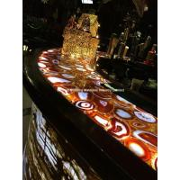 Wholesale Backlit Red Agate Semiprecious Stone Bar Top from china suppliers