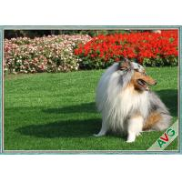 Wholesale Anti Bacterial Soft Permeable Fake Green Grass Pet Grass Field Green Color from china suppliers