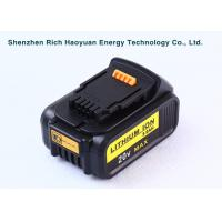 Wholesale Replacement Dewalt DCB180 Cordless Drill Battery 20V 5Ah , Dewalt Lithium Ion Battery from china suppliers
