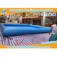 Wholesale Multi Color Water Toys Inflatable Paddling Pool With Logo Printing , 8 * 8m from china suppliers