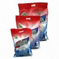 Quality Washing Powder Plastic Packing Bags with Laminated Color Printing for sale