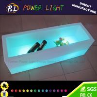 Wholesale Bar Furniture Plastic Color Changing Rechargeable LED Wine Holder from china suppliers