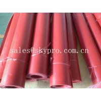 Wholesale Flooring / gasket red rubber sheet roll good elasticity and wear resistance from china suppliers
