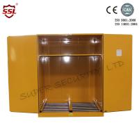 Wholesale Flammable Chemical Storage Cabinet Solid For Storing Liquid , Hazardous Cupboards from china suppliers