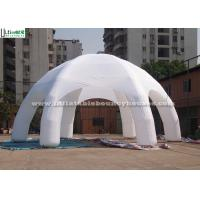 Wholesale 6 Legs Advertising Air Inflatable Tents / Inflatable Dome Tent Custom Made from china suppliers