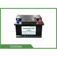 Wholesale Rechargeable LiFePO4 Starter Battery 12V 50Ah For Car Engine Start from china suppliers