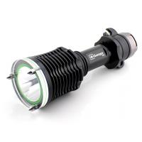Wholesale Y70 High bright rechargeable diving flashlight with lifesaving hammer and seat belt cutter from china suppliers