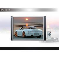 Wholesale 17 Inch PAL, NTSC 1000:1 350cd/m2 DC12V Open Frame Monitors / LCD Advertising Player from china suppliers
