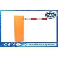Buy cheap Secuity Gate Barrier Parking Barrier Boom Gate With DC Brushless Servo Motor from wholesalers