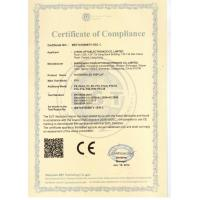 Lyson Optoelectronics Co.,Limited Certifications