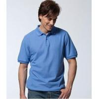 China Solid Color Polo T-Shirt (PK-MS005) on sale