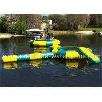 Wholesale Great Fun Inflatable Water Trampoline Combo Durable Long Life Span from china suppliers