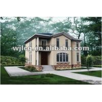 Quality light steel prefabricated villa for sale