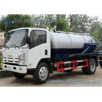 Wholesale ISUZU 700P 4x2 190hp Vacuum Tank Truck 10000L Q345 ISO / CCC from china suppliers