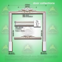 Wholesale Classic european style PU door lintel moulding from china suppliers