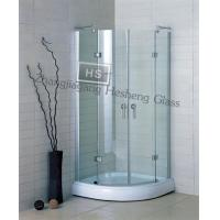 Wholesale 10MM clear tempered glass as glass shower room from china suppliers