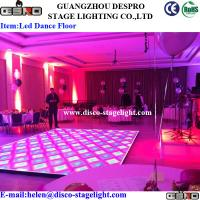 Wholesale Entertainment LED Disco Dance Floor Sound Activated Party Strobe Light from china suppliers