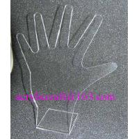 Wholesale Acrylic ring display stand, clear PMMA hand shape finger ring display rack from china suppliers