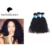 Wholesale Unprocessed Virgin Mongolian Hair Extensions , Natural Curly Grade 7A Virgin Hair from china suppliers