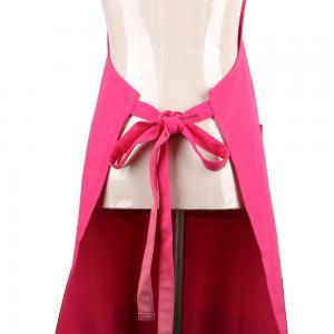 Quality Pretty Arts Promotion Adult Long Bib Cotton Kitchen Apron Adjustable Neck Straps for sale
