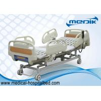 Wholesale 3 Function Folding Semi Fowler Medical Bed , Ward / ICU Bed For Patient from china suppliers