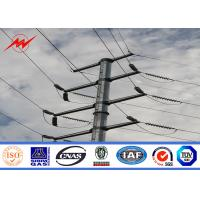 Buy cheap 12m 800Dan Hot Dip Galvanized Utility Power Poles For Electrical Distribution Line from wholesalers