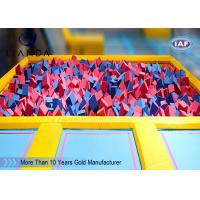 Wholesale Promotional foam packing material pit indoor trampine park for protect kid from china suppliers