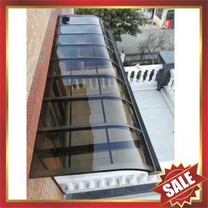 China beautiful modern anti-UV sun rain metal aluminium aluminum alloy polycarbonate awning canopy shelter for gazebo patio on sale