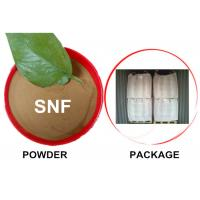 Buy cheap Concrete additives / Textile Chemicals / Dispersing Agent / Naphthalene Sulfonate Formaldehyde / NSF Superplasiticizer from wholesalers