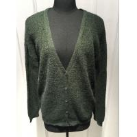 Wholesale Ladies Oversize Button Front Cardigan Sweater , V Neck Cardigan Women'S Sping / Autumn from china suppliers