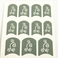 Wholesale Flowers printing Nail Art Stencils Full Cover for fingers from china suppliers