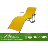 Wholesale Rust - Proof Folding Beach Chaise Lounge Chairs Outdoor Garden Furniture from china suppliers