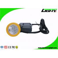 Wholesale 15000 Lux High Beam Mining Cap Lamp Miners Headlamp , Explosion Proof IP68 from china suppliers