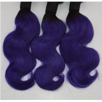 Wholesale Fashion Virgin Brazilian Hair For Black Women 100% Unprocessed 1B/Blue Body Wave Hair Extension 6A-8A Remy Hair In Stock from china suppliers
