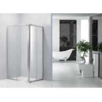 Wholesale Sliding Bathroom Shower Enclosures 0.082 Volume With Bright Aluminum Frame from china suppliers