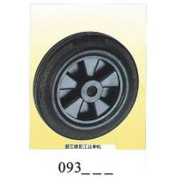 Buy cheap Industrial black rubber single wheel pp core 093 from wholesalers