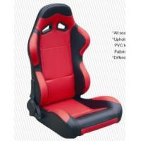 Wholesale High Performance Black Racing Seat Car Seat With Fabric + Carbon Look Material from china suppliers