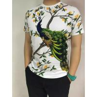 Wholesale Customized Digital Print Cotton Spandex Jersey T Shirts / Sports Clothing from china suppliers