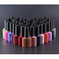 Quality Colorful 7ml UV  high white grade glass Bottle with Rubber Cap for nail beauty for sale