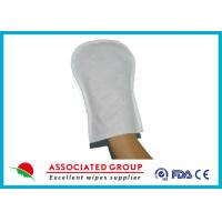 Wholesale Pearl / Plain Pattern bathroom cleaning gloves For Body Cleansing , Smooth And Fresh from china suppliers