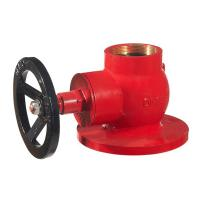 """Wholesale hot sale globle hydrant valve 2.5"""" brass in red painting from china suppliers"""