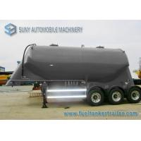 Wholesale 3 Axle Conoid Dry Bulk Tank Trailer 32 Cubic Meter High Performance from china suppliers