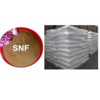 Wholesale Sodium naphthalene sulfonate formaldehyde Based Superplasticizer For Construction / Textile from china suppliers