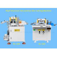 Wholesale Hydraulic Industrial Flat Bed Die Cutting Machines With Punching , Hot Stamping from china suppliers