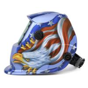 Quality Custom Welding Mask For MIG TIG Arc Welding Best Welding Helmet Decals American Flag Eagle Welding Hood for sale