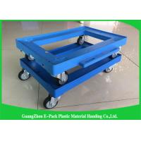 Wholesale Platform Truck Plastic Moving Dolly for Office / Plastic Dolly Cart from china suppliers