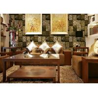 Wholesale 3D Wooden Washable Living Room Wall Coverings For Room Decoration 0.53*10M from china suppliers